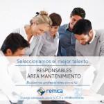 Oferta de empleo: Gerentes de área de mantenimiento