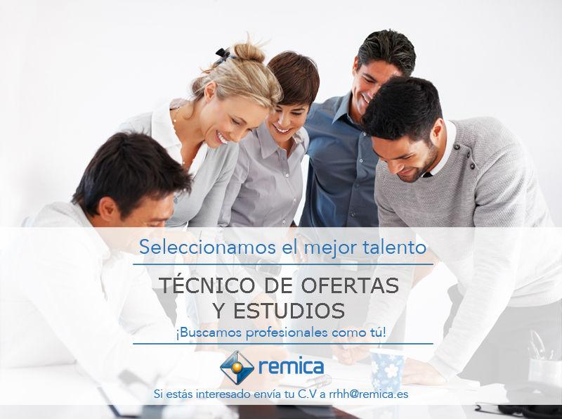 Remica oferta empleo técnico estudios