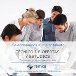 Oferta de empleo: Técnico de Ofertas y Estudios