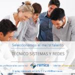 Oferta de empleo: Buscamos un técnico de sistemas y redes