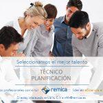 Oferta de empleo: técnico de gestión y planificación