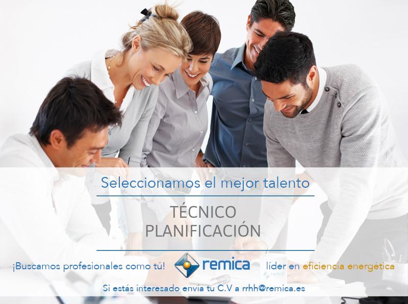 Oferta de empleo: técnico planificador