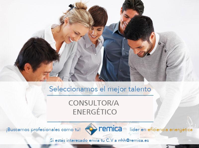 oferta de empleo remica consulltor energético