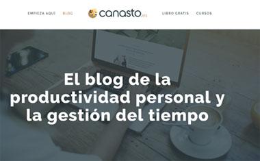 blog de formación Canasto