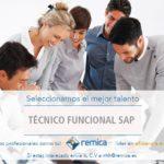 Oferta de empleo: Técnico Funcional SAP