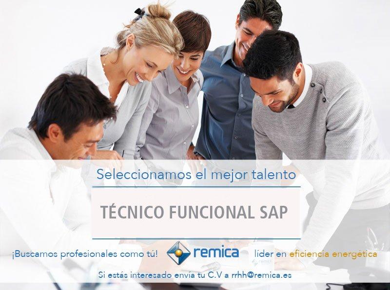 oferta empleo Remica: tecnico funcional SAP