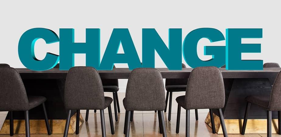 promover el cambio en las organizaciones