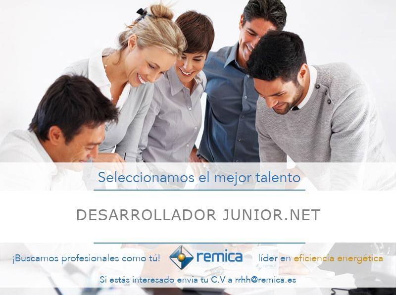 oferta empleo remica desarrollador junior .NET